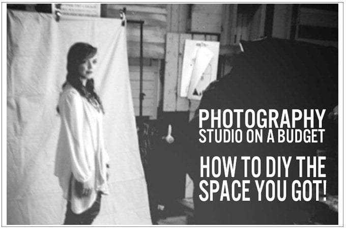 Photography Studio on Budget:  How to DIY the Space you Got!