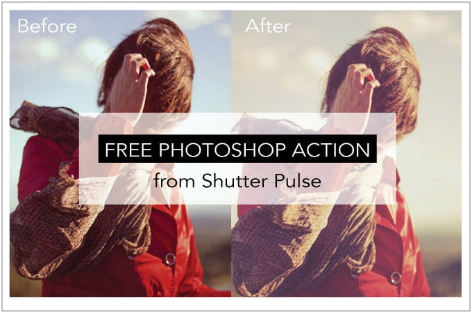 Free Photoshop Action from Shutter Pulse